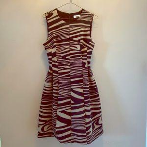 Calvin Klein Zebra Print Dress / Size 2